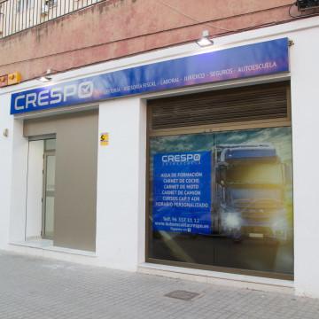 Entrada Autoescuela Crespo