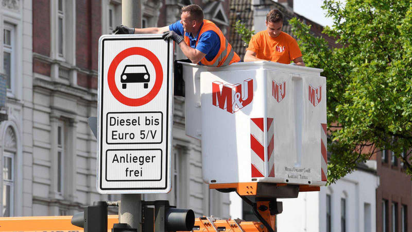 Llega la prohibición de los vehículos diésel a Alemania
