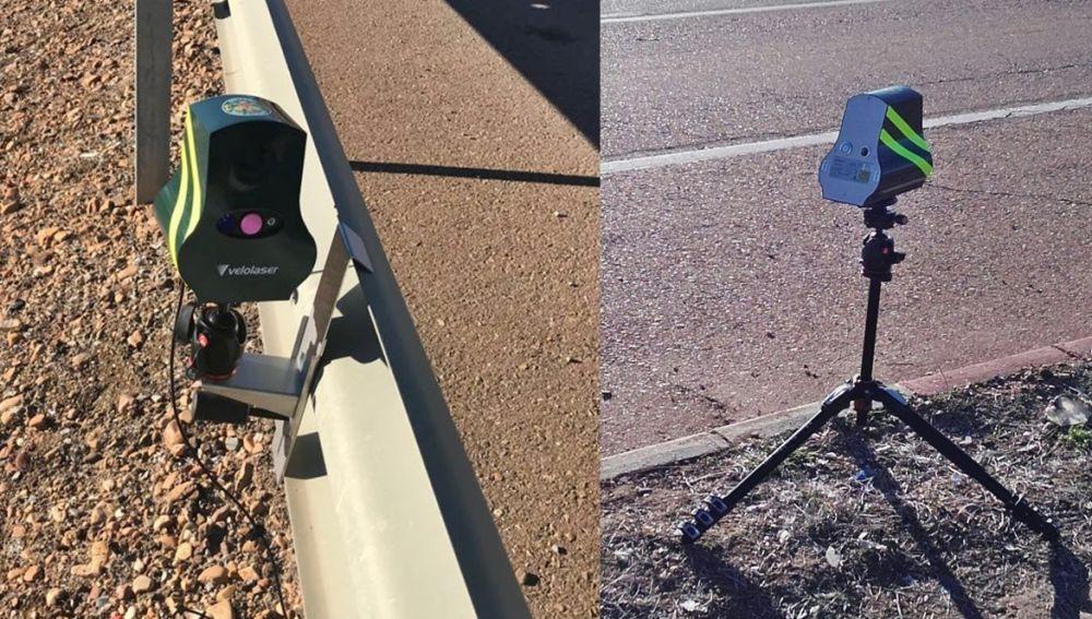 Nuevos radares velolaser DGT