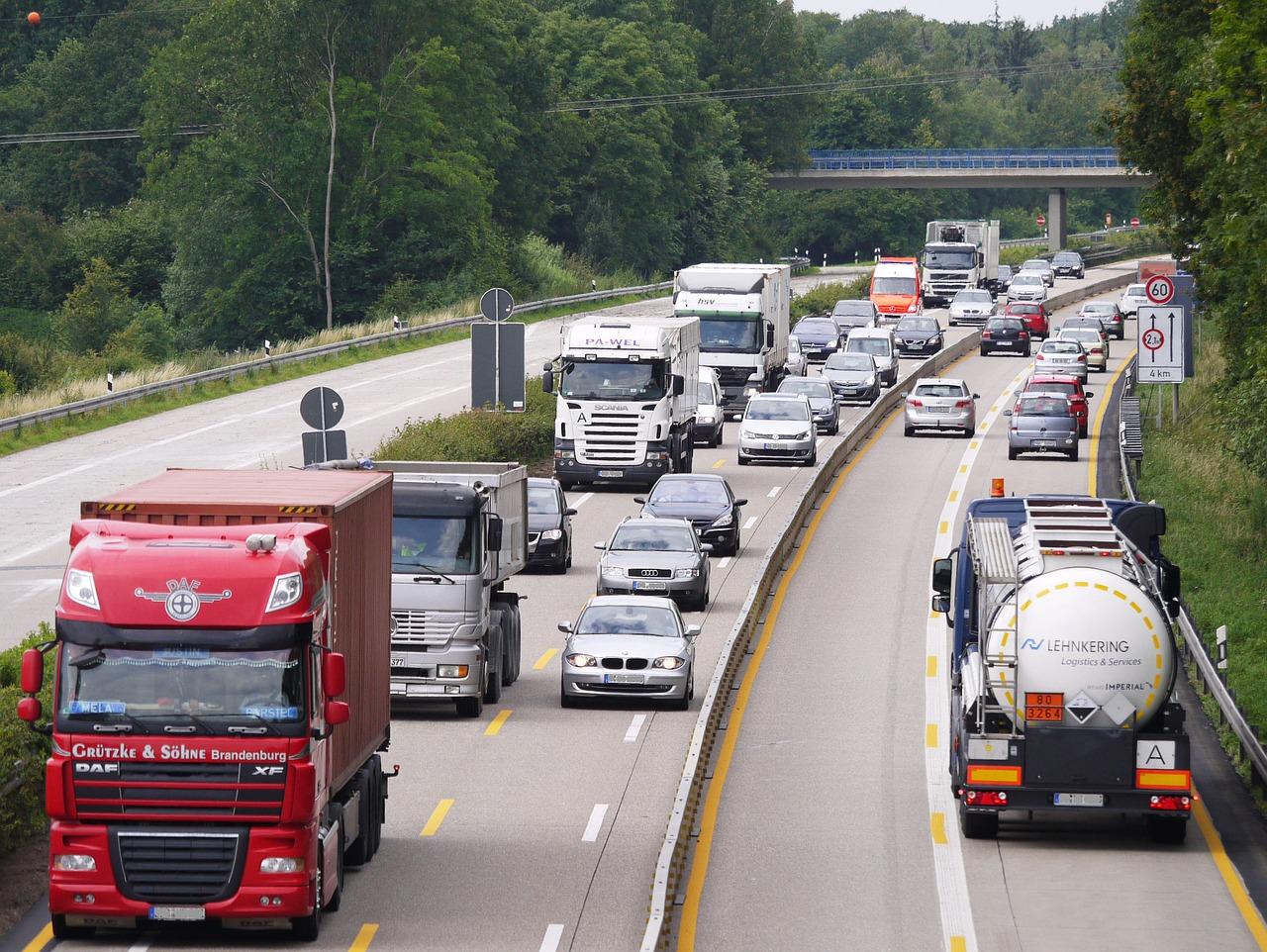 Restricciones a camiones durante el mes de julio en Francia e Italia