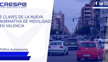 5 claves nueva normativa de movilidad en València