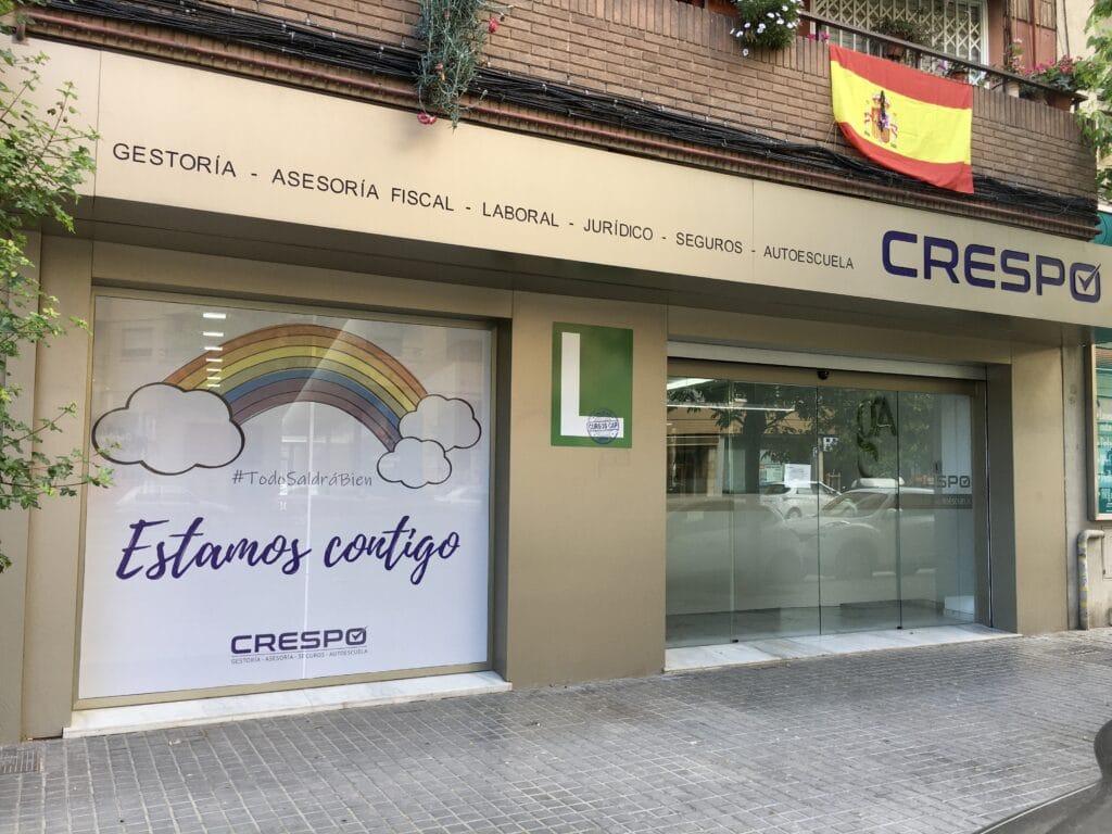 Fachada Gestoría y Asesoría Crespo