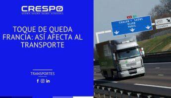 Toque de queda en Francia: Así afecta al transporte