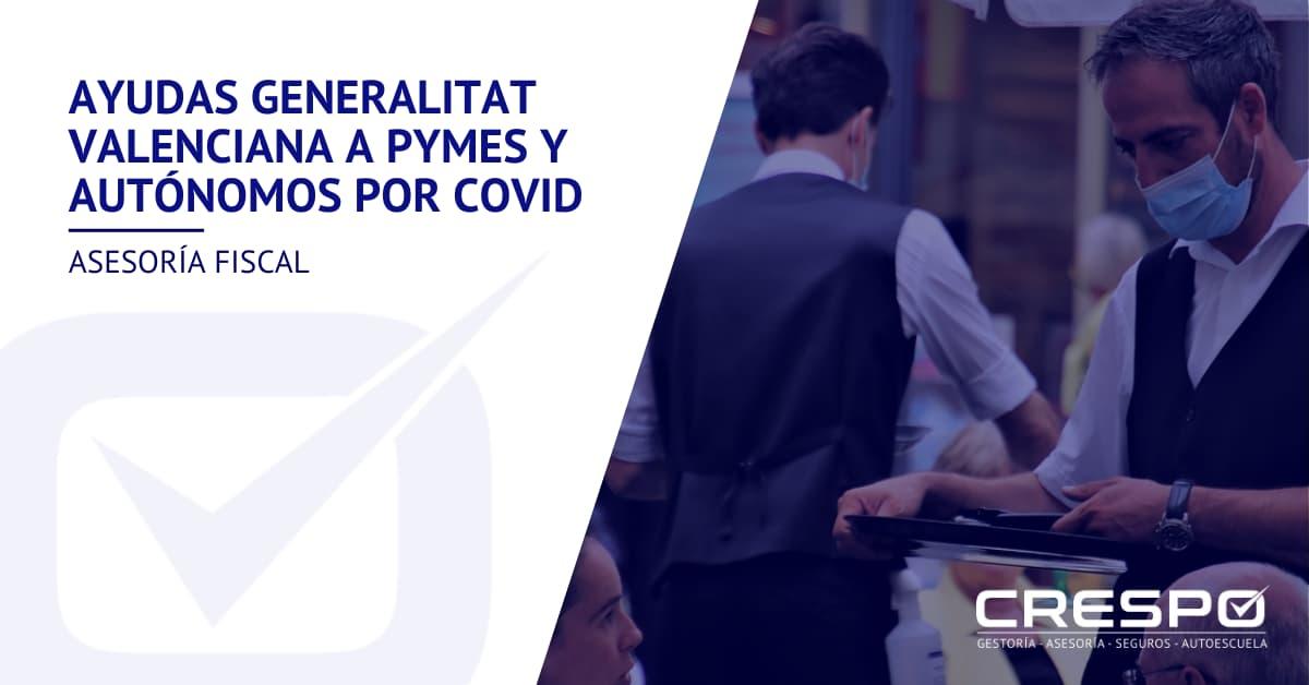 Ayudas a pymes y autónomos por COVID