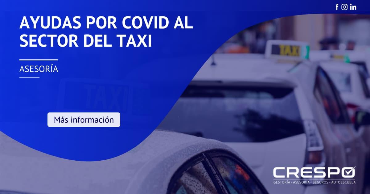 Ayudas Comunidad Valenciana sector taxi por COVID