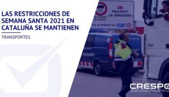 Restricciones de Semana Santa 2021 en Cataluña